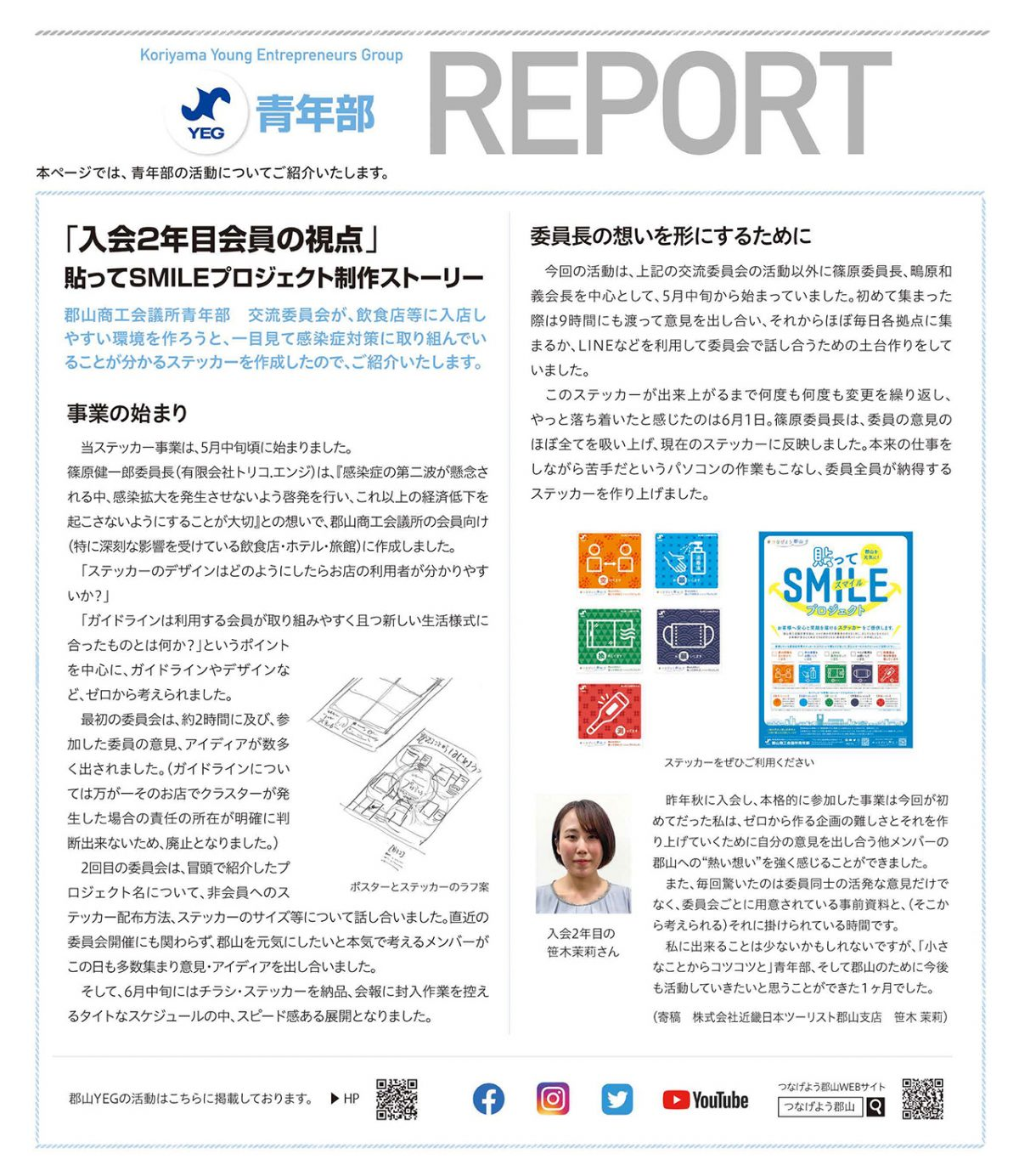 青年部Report